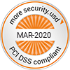 PCI-DSS compliant - MAR-2020 - more security